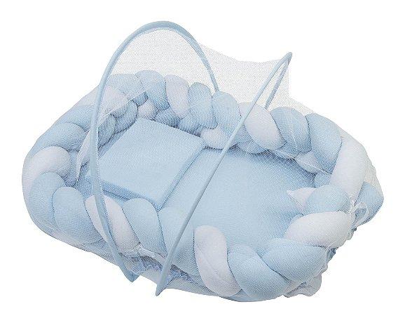 Ninho Trança Branco/Azul - Incomfral