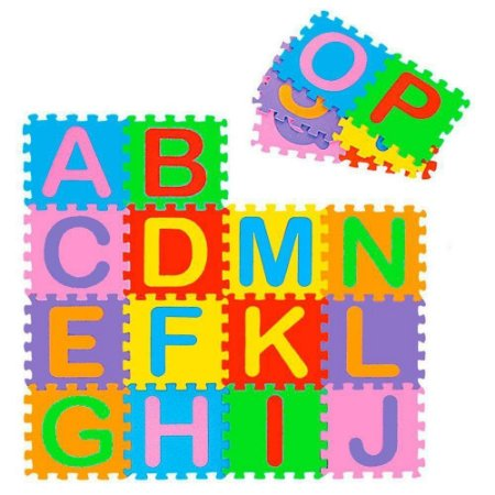 Tapete Alfabeto Eva 26 Pçs