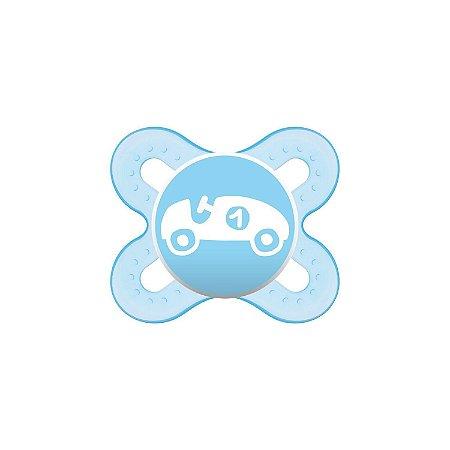 Chupeta Start 0 a 2 Azul Single Box - MAM