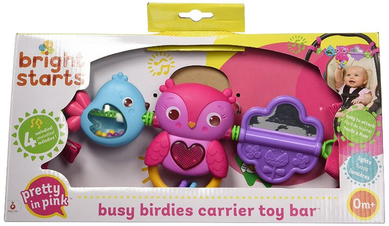 Pip Busy Birdies Carrier Toy Bar - Bright Starts