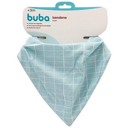 Bandana Grid Frutti Azul - Buba