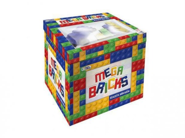 Mega Bricks 48 Peças - Pais e Filhos