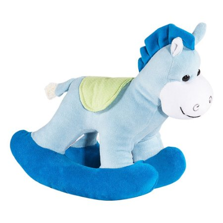 Cavalo Balanço Azul - Bichos de Pelúcia