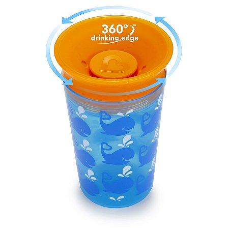 Copo Antivazamento 360 Baleia - Munchkin