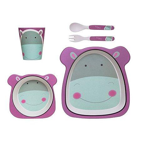 Kit Alimentação Hipopótamo - Girotondo