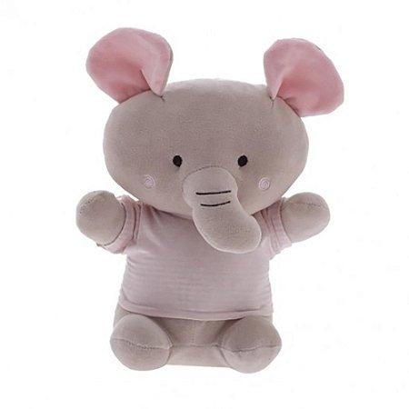Elefante Camisa Listrada Rosa - Zip Toys