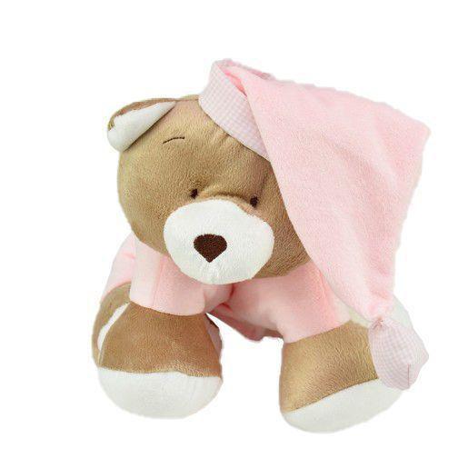 Puppet Urso Nino Rosa - Zip Toys