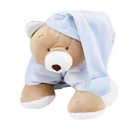 Puppet Urso Nino Azul - Zip Toys