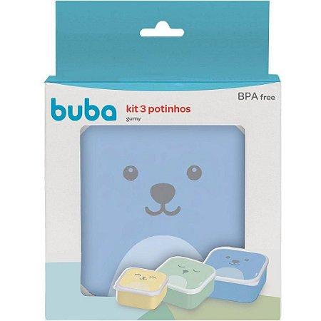 Kit 3 Potinhos Gumy Menino - Buba