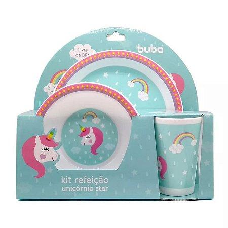 Kit Refeição Unicórnio - Buba