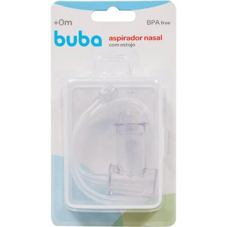 Aspirador Nasal de Sucção com Estojo - Buba