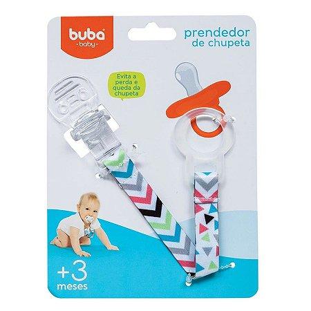 Prendedor de Chupeta Baby Shapes - Buba