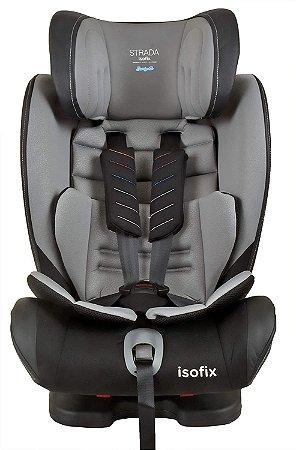 Cadeira Strada Isofix Black Gray - Burigotto