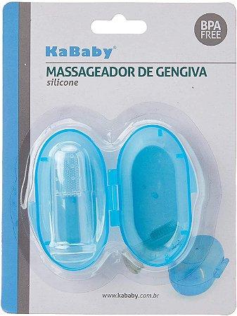 Massageador de Gengiva Azul - KaBaby
