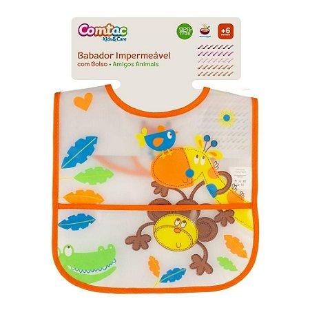 Babador Impermeável Amigos Animais - Comtac