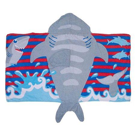 Toalha 3D Tubarão - Incomfral