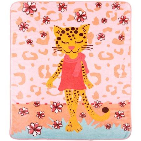 Cobertor Tigresa Rosa Microfibra - Incomfral
