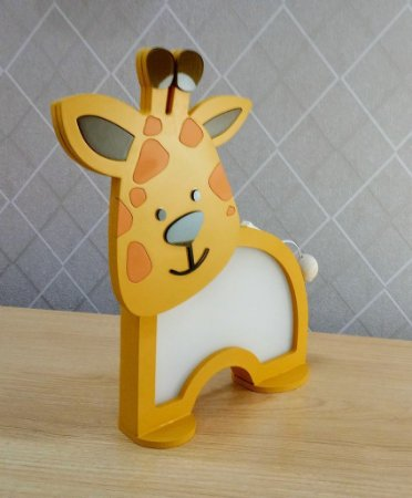 Nova Luminária Girafa