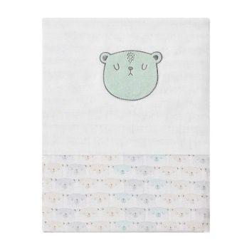 Jogo de Berço Americano 3 Peças Urso - Papi Baby