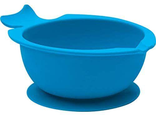 Bowl de Silicone com Ventosa Azul - Buba