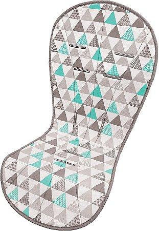 Almofada Protetora para Carrinho Triângulos - Buba