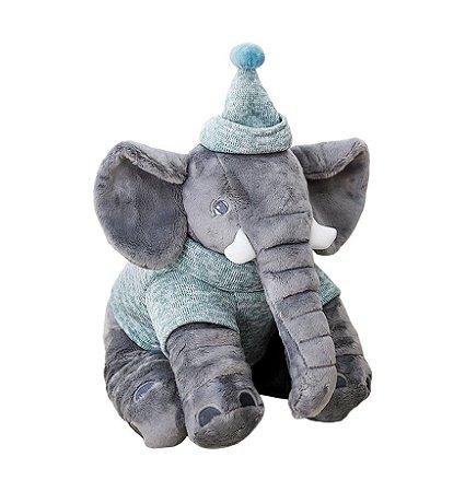Pelúcia Elefante Buguinha Boy - Bup Baby