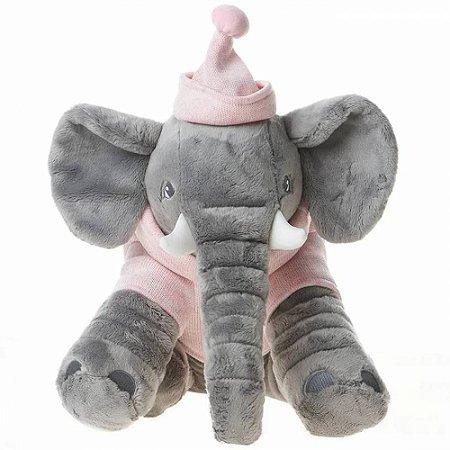 Pelúcia Elefante Buguinha Girl - Metoo
