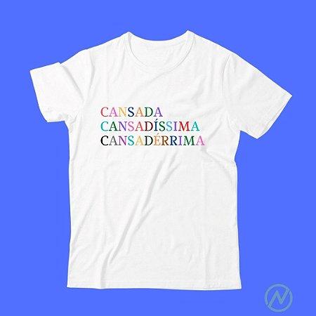 T SHIRT CANSADA