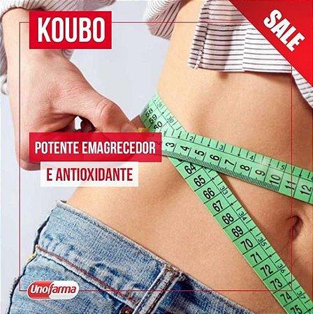 GOMAS DE KOUBO 100MG - 30 UNIDADES - EMAGRECEDOR E ANTIOXIDANTE