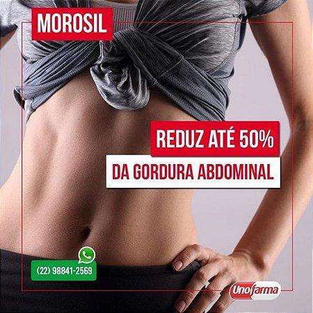 MOROSIL 500MG 60CAPS - REDUÇÃO DE GORDURA ABDOMINAL