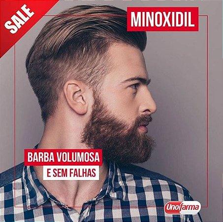 MINOXIDIL 5% EM CREME PARA BARBA 120G