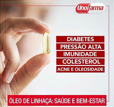 ÓLEO DE LINHAÇA 500MG 60 CÁPSULAS