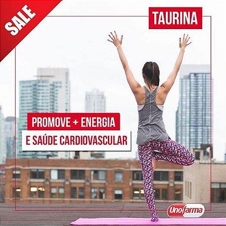 TAURINA 500MG 60 CÁPSULAS