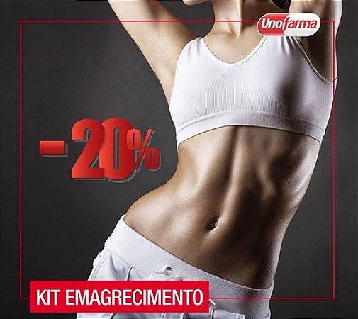 KIT EMAGRECIMENTO - PICOLINATO DE CROMO, TEACRINE, CAPSIATE E MOROSIL