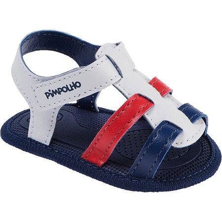 Sandália Pimpolho Recém Nascido Menino