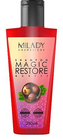Shampoo Magic Restore Buriti 250ml Milady Cosméticos
