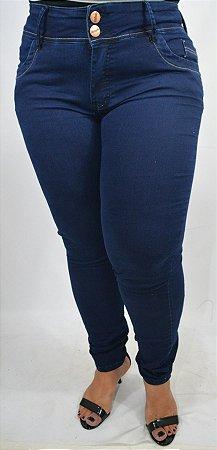 9166f0aa3 Calça Jeans Feminina Azul Marinho Plus Size - Cazzadella Plus Size