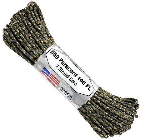 PARACORD 550 4MM FABRICADO NOS EUA 10 METROS - MULTICAM