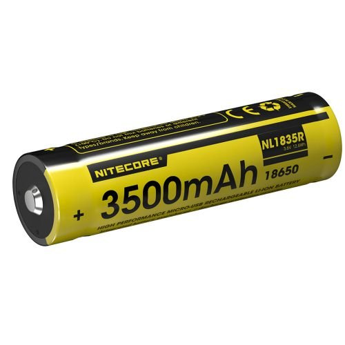 BATERIA NITECORE NL1835R 3500MAH MICRO-USB RECARREGÁVEL