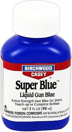 SUPER OXIDAÇÃO A FRIO LÍQUIDO - SUPER BLUE PARA RESTAURAR ARMAS
