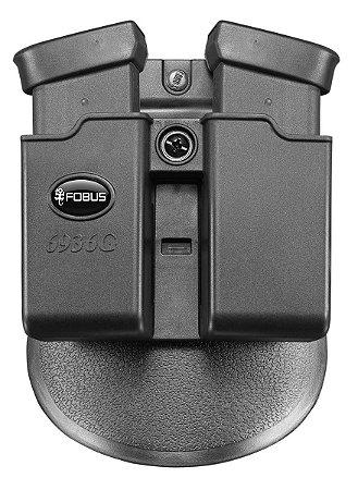 PORTA CARREGADOR FOBUS P/ IMBEL BIFILAR .380 .40 E 9mm