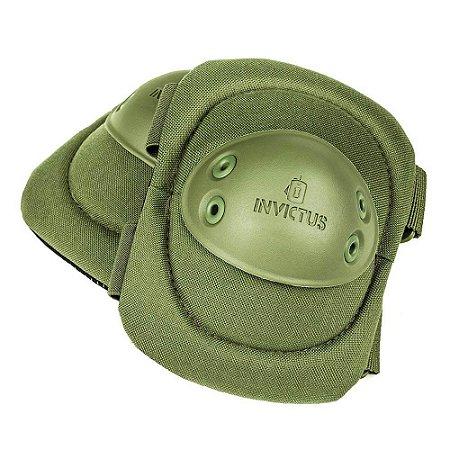 COTOVELEIRA INVICTUS PROTEC VERDE OLIVA