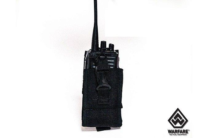 PORTA RADIO WARFARE POLICE MOLLE BLACK