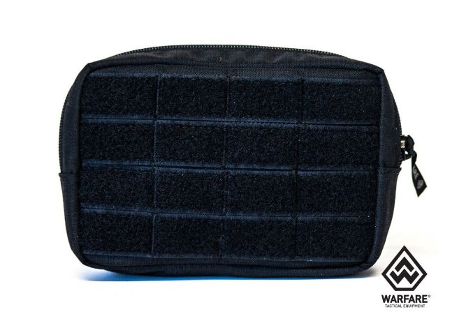 BOLSO HORIZONTAL WARFARE MINI PRETO
