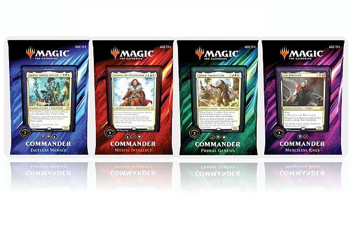Kit 4 Commanders 2019