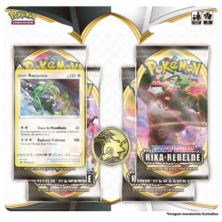 Pokémon - Rixa Rebelde Quadruplo