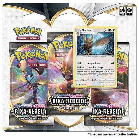 Pokémon Triple Pack - Rixa Rebelde