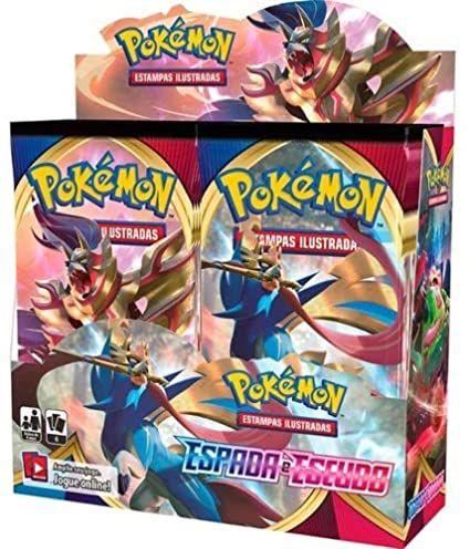 Booster Box Pokémon - Espada e Escudo