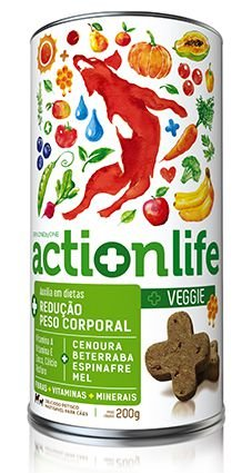 Snack ACTIONLIFE Spin Pet - 200g - Veggie