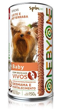 Stick PROBIOTIC Spin Pet - 150g - Baby